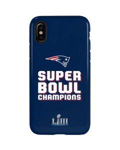 Patriots Super Bowl LIII Champions iPhone XS Max Pro Case