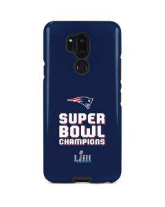 Patriots Super Bowl LIII Champions LG G7 ThinQ Pro Case