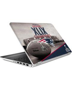 Patriots Super Bowl XLIX Champs HP Pavilion Skin