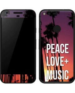 Peace Love And Music Google Pixel Skin