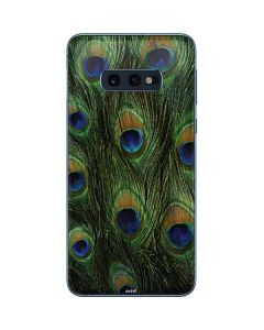 Peacock Galaxy S10e Skin