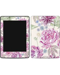 Peony Amazon Kindle Skin