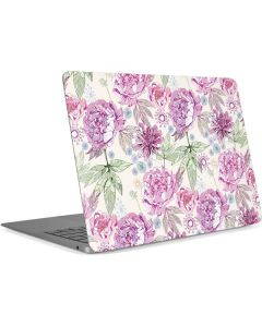 Peony Apple MacBook Air Skin