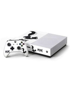 Pepe Le Pew Identity Xbox One S Console and Controller Bundle Skin