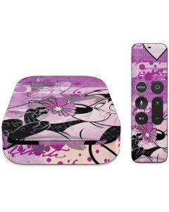 Pepe Le Pew Purple Romance Apple TV Skin