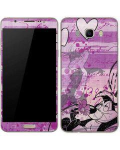 Pepe Le Pew Purple Romance Galaxy J7 Skin