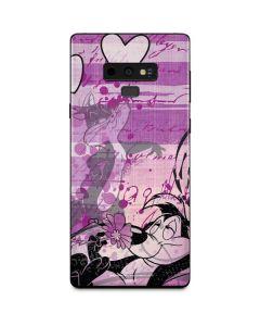 Pepe Le Pew Purple Romance Galaxy Note 9 Skin