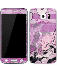 Pepe Le Pew Purple Romance Galaxy S6 Skin