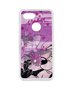 Pepe Le Pew Purple Romance Google Pixel 3 Clear Case