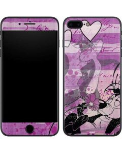 Pepe Le Pew Purple Romance iPhone 8 Plus Skin