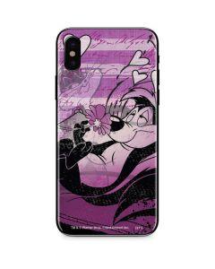 Pepe Le Pew Purple Romance iPhone X Skin