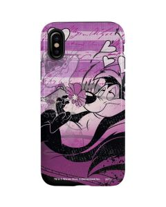 Pepe Le Pew Purple Romance iPhone XS Max Pro Case