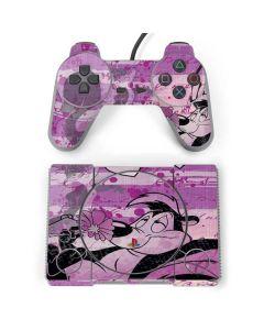 Pepe Le Pew Purple Romance PlayStation Classic Bundle Skin