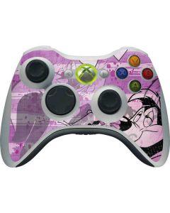 Pepe Le Pew Purple Romance Xbox 360 Wireless Controller Skin