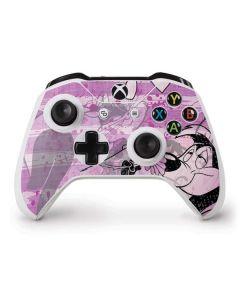 Pepe Le Pew Purple Romance Xbox One S Controller Skin