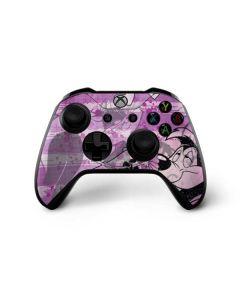 Pepe Le Pew Purple Romance Xbox One X Controller Skin