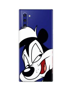 Pepe Le Pew Zoomed In Galaxy Note 10 Skin