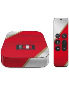 Peru Soccer Flag Apple TV Skin