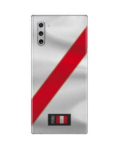 Peru Soccer Flag Galaxy Note 10 Skin