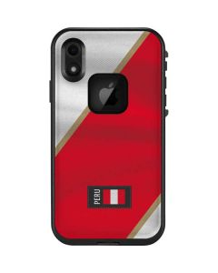 Peru Soccer Flag LifeProof Fre iPhone Skin