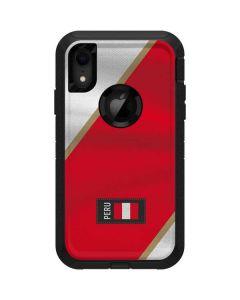 Peru Soccer Flag Otterbox Defender iPhone Skin