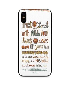Peter Horjus - Trust In the Lord iPhone X Skin