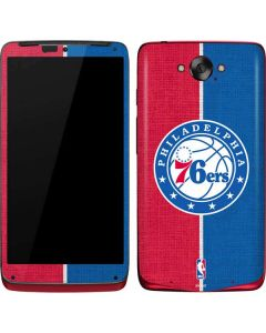 Philadelphia 76ers Canvas Split Motorola Droid Skin
