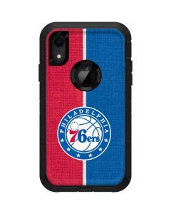 Philadelphia 76ers Canvas Split Otterbox Defender iPhone Skin