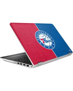 Philadelphia 76ers Canvas Split HP Pavilion Skin