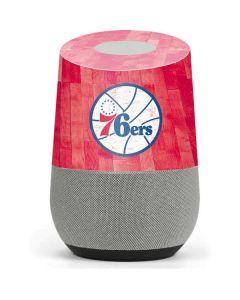 Philadelphia 76ers Hardwood Classics Google Home Skin
