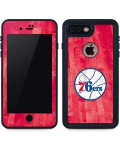Philadelphia 76ers Hardwood Classics iPhone 7 Plus Waterproof Case