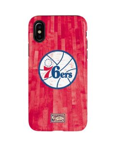 Philadelphia 76ers Hardwood Classics iPhone X Pro Case