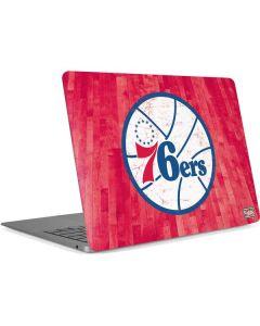 Philadelphia 76ers Hardwood Classics Apple MacBook Air Skin