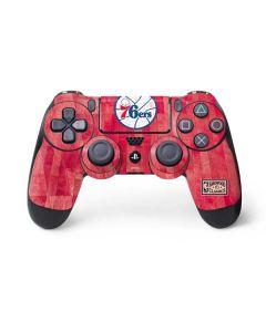 Philadelphia 76ers Hardwood Classics PS4 Controller Skin