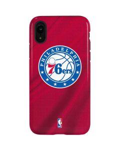 Philadelphia 76ers Jersey iPhone XR Pro Case