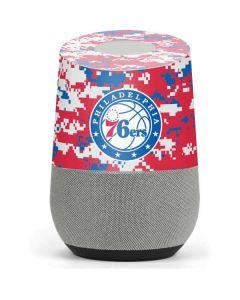 Philadelphia 76ers Red Digi Camo Google Home Skin