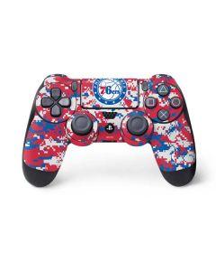 Philadelphia 76ers Red Digi Camo PS4 Controller Skin