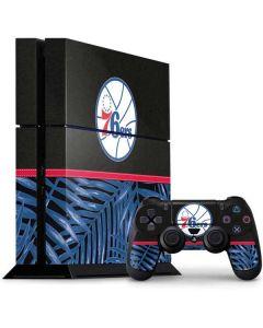 Philadelphia 76ers Retro Palms PS4 Console and Controller Bundle Skin