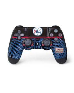 Philadelphia 76ers Retro Palms PS4 Controller Skin