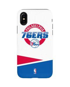 Philadelphia 76ers Split iPhone X Pro Case
