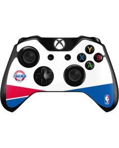 Philadelphia 76ers Split Xbox One Controller Skin