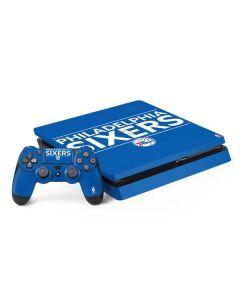 Philadelphia 76ers Standard - Blue PS4 Slim Bundle Skin