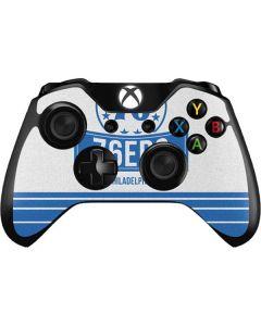 Philadelphia 76ers Static Xbox One Controller Skin