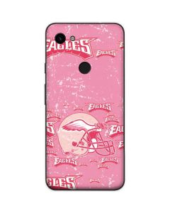 Philadelphia Eagles - Blast Pink Google Pixel 3a Skin