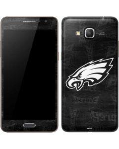 Philadelphia Eagles Black & White Galaxy Grand Prime Skin