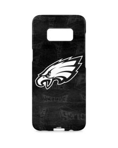 Philadelphia Eagles Black & White Galaxy S8 Plus Lite Case
