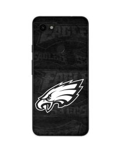 Philadelphia Eagles Black & White Google Pixel 3a Skin