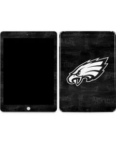 Philadelphia Eagles Black & White Apple iPad Skin