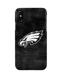 Philadelphia Eagles Black & White iPhone XS Max Lite Case