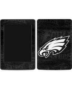 Philadelphia Eagles Black & White Amazon Kindle Skin